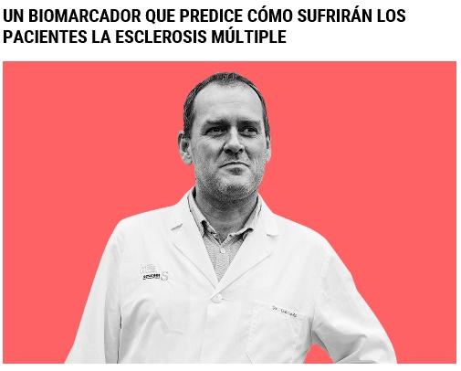 Dr. Diego Clemente, investigador principal del Laboratorio de Neuroinmuno-Reparación del Hospital de Parapléjicos de Toledo. Fuente: elmundo.es